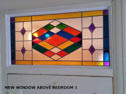 stained glass door windows home decoration for amazing staining new window above door my