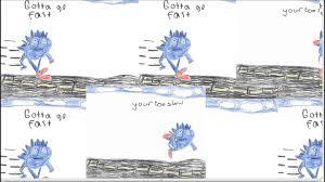 Sonic Gotta Go Fast Meme - sanic gotta go faster youtube