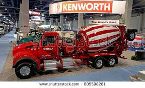 kenworth concrete truck lasvegas usa march 8 2017 mixer stock photo 605598281 shutterstock