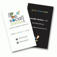 Social Network Business Card Business Cards Graphics And More By Evan Austin