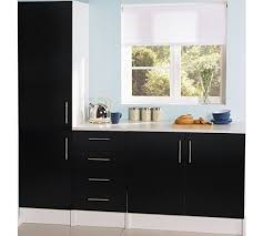 argos kitchen furniture buy athina 3 fitted kitchen unit package black at argos co