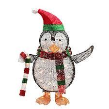 Amazon Outside Christmas Decorations Penguin Outdoor Christmas Decorations Amazon Com