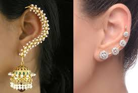 ear cuffs india ear cuff earrings the most eye catching styles mag