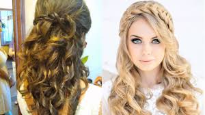 wedding guest hair half up half down for long hair hairdresser