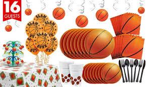 basketball party supplies basketball party supplies party city