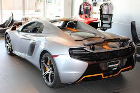 orange mclaren rear of the possibilities with this mclaren newport beach custom 650s