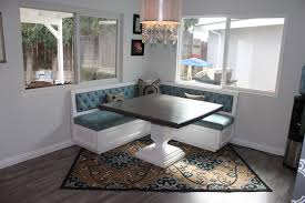 Dining Room Booth Booth Dining Table Room Modern With Banquette Seating Blue To