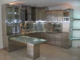stainless steel kitchen furniture cool stainless steel cabinets with modern glass kitchen