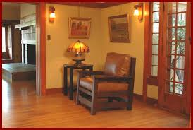 voorhees craftsman mission oak furniture arts and crafts vintage