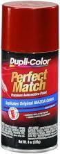amazon com dupli color bmz1161 copper red mica mazda perfect