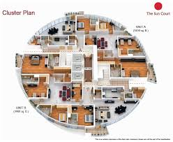 luxury apartment plans maple iii 3 townhouses in dubai hills estate by emaar cluster house