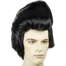 elvis hairstyle 1970 deluxe pompadour elvis wig elvis wig elvis hair 1950s wig