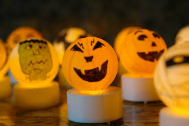 vintage halloween lights booturtle u0027s show and tell make your own halloween tea lights