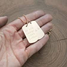Custom Gold Dog Tags Personalized Gold Dog Tags Jewelry Jewelry Flatheadlake3on3