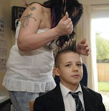 awesome haircuts for 11 year pld boys mother keeps son 11 home from school after he s told to cut anti