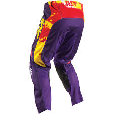 thor motocross gear nz thor 2017 mx new kids pulse tydy purple fire jersey pants youth