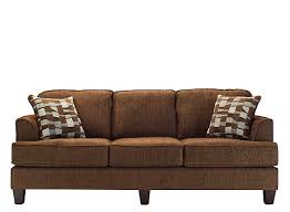 Chenille Sofa And Loveseat Gardner Chenille Sofa Brown Raymour U0026 Flanigan