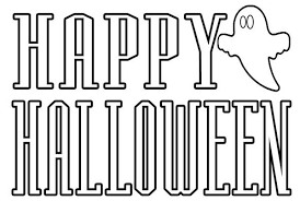 happy halloween coloring pages coloring