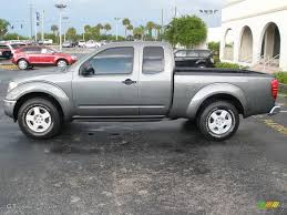 nissan frontier king cab length 2007 storm gray nissan frontier se king cab 10787309 gtcarlot