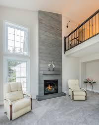 concrete fireplace binhminh decoration