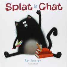 splat the cat coloring pages splat le chat amazon ca rob scotton rose marie vassallo books