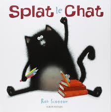 splat le chat amazon ca rob scotton rose marie vassallo books