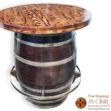 collection in barrel bar table with wine barrel bar table sosfund