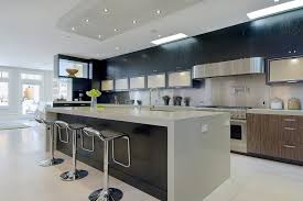 dark cabinets white island kitchen contemporary with pot filler