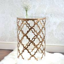 Side Tables For Bedroom by Quatrefoil Metal Side Table Metal Side Tables For Bedroom Metal