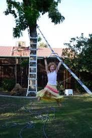 Backyard Zip Line Ideas Backyard Zipline Without Trees Playhouses Pinterest Backyard