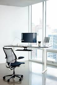 Herman Miller Adjustable Height Desk by Float Humanscale U0027s Height Adjustable Sit Stand Table