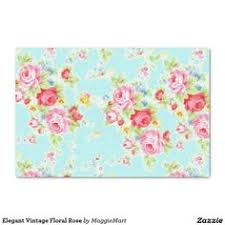 floral tissue paper floral turquoise pink watercolor bouquet tissue paper pink