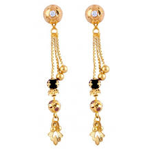 sui dhaga earrings design shashikala sui dhaga sui dhaga gold earrings gold