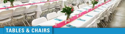 Chairs And Table Rentals Northern Event Rentals Bemidji Mn Chairs And Tables For Any