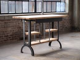 kitchen island modern buy a custom maple modern industrial kitchen island console