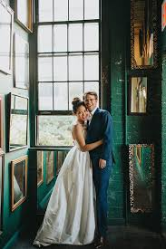 wedding arch nyc whimsical nyc wedding with a suspended gold palm arch 25 ruffled