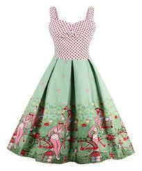 sucrefas green polka dot bicycle a line dress zulily