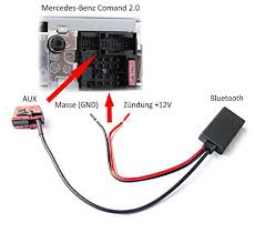 mercedes e class bluetooth mercedes bluetooth adaptor comand amazon co uk electronics