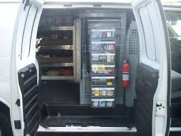 Cargo Van Shelves by Purchase Used 2003 Gmc Savanha 3500 1 Ton Cargo Van With Shelves