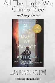 all the light we cannot see review hh h h book review all the light we cannot see by anthony doerr