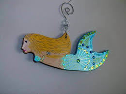 mermaid wooden wall hanging u2014 home design and decor mermaid home