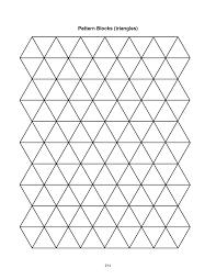 blank pattern block templates calendar picture templates