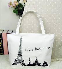 100 pcs factory wholesale fashion shopping canvas bag printing
