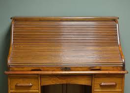 Antique Roll Top Desk by Large Edwardian Oak Antique Roll Top Desk C 1900 United Kingdom