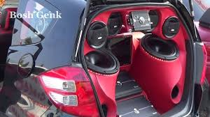 mobil honda jazz modifikasi mobil honda jazz full audio kota tegal 1 nov 2014 hd