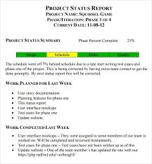 Project Weekly Status Report Template Excel 7 Weekly Status Report Templates Word Excel Pdf Formats