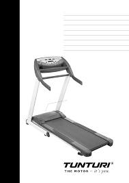 tunturi treadmill j4f user guide manualsonline com