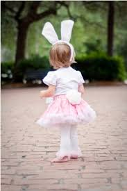 Halloween Costumes Bunny Rabbits Pink White Bunny Rabbit Pettiskirt Halloween Costume