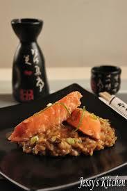 saumon cuisine fut jessy s kitchen risotto au miso et saumon moelleux