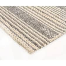 chunky braided casellena braied silver felted wool floor area rug